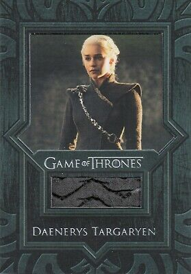 Game of Thrones Inflexions, Daenerys Targaryen Coat VR7 Costume Relic Card