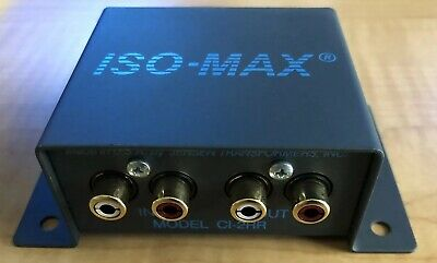 Jensen Transformers CI-2RR ISO-MAX Stereo Audio Hum/Buzz Eliminator/Isolator