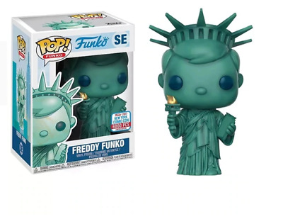 Funko pop Freddy Statue Of Liberty Vinyl Figure Model Toy with IN Box