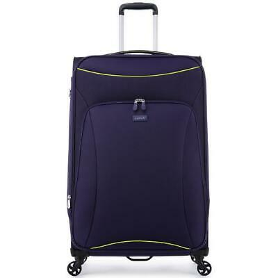 Antler Zeolite Large 81cm Purple Soft Suitcase Travel Luggage