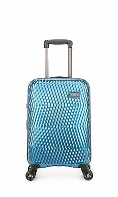 Antler Viva Cabin/Carry On 56cm Teal Expandable Hard Suitcase Travel Luggage