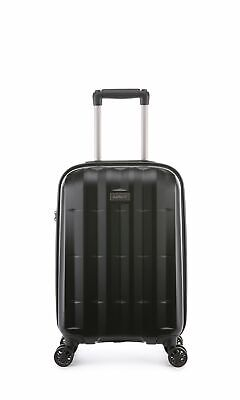 Antler Global Cabin/Carry On 56cm Black Expandable Hard Suitcase Travel Luggage