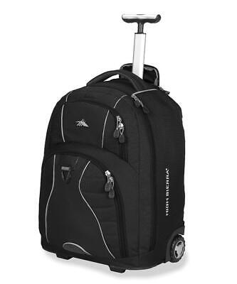 "High Sierra Freewheel 17"" Laptop Wheeled Backpack Travel Luggage"