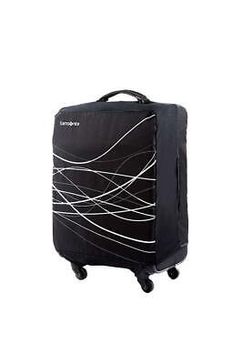 Samsonite Small Foldable Suitcase Cover Black Travel Luggage