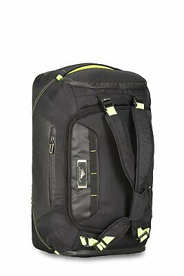 High Sierra AT8 Black/Green Cabin/Carry On 56cm Duffles Backpack Travel Luggage