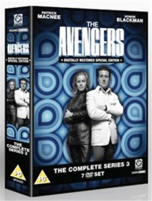 Patrick MacNee, Honor Blackman-Avengers: The Complete Series 3 DVD NUOVO