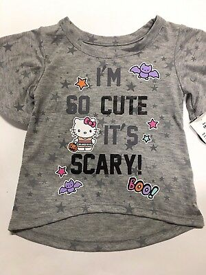 8e7f5e37 NEW GIRLS HALLOWEEN T SHIRT brother is scary, i'm sweet CUPCAKE ...