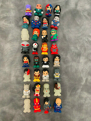 OOSHIES DC Series 1-4 rare and common Ooshie