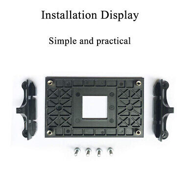 Back Plate Sturdy Radiator Mount Support CPU Fan Bracket Professional For AM4 #Y