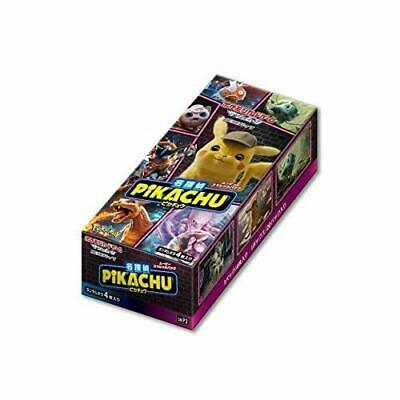 Pokemon card Detective Pikachu movie special pack Box Japan new.