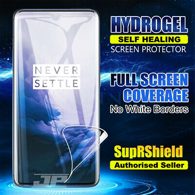SupRShield OnePlus 7 7 Pro HYDROGEL Full Coverage Screen Protector Film Guard