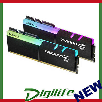 G.Skill DDR4-3600 16GB Dual Channel [Trident Z RGB For AMD] F4-3600C18D-16GTZRX