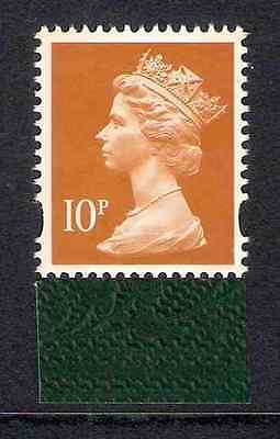 GB 2009 sg Y1767 10p Dull Orange litho 2 bands Darwin booklet stamp MNH ex Y1749
