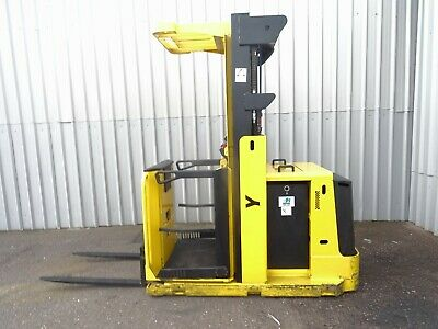 YALE MO10E. 1000Kgs USED ORDER PICKER FORKLIFT TRUCK. (#2435)