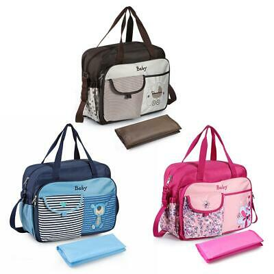 Waterproof Baby Nappy Changing Bag Diaper Handbag Shoulder Mummy Maternity Bags