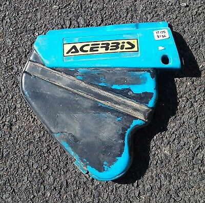 1981, 1982 Yamaha IT175 side cover. airbox cover.  Vinduro, VMX, MX, YZ.