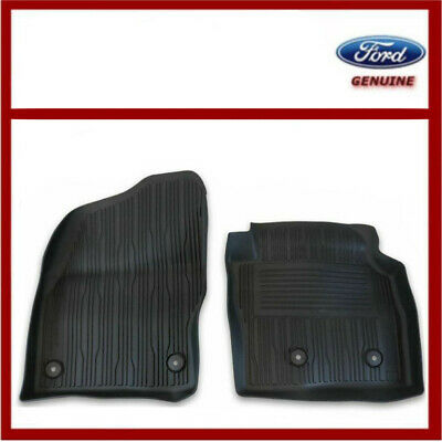 Genuine Ford Transit Connect Front Rubber High Wall Floor Mats 2263239