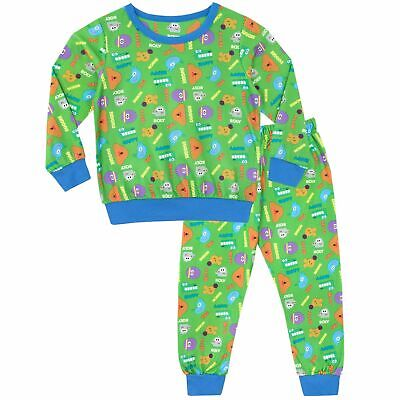 Hey Duggee Fleece Pyjamas Twosie Warm Long Pjs Lounge Set Character Kids Size