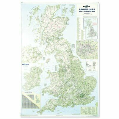 Map Marketing British Isles Motoring Map Unframed 12.5 Miles to 1 inch Scale W83