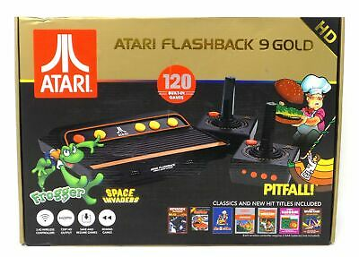 Atari Flashback 9 Gold HD Classic Gaming Console 120 Built-In Games AR3650