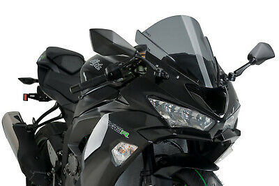 Zero Gravity Windscreen SR Dark Smoke For Kawasaki ZX6R 00-02 ZZR600 20-244-19