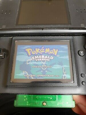 Nintendo Game Boy Advance Pokemon Emerald Gba Mint Perfect Working Condition