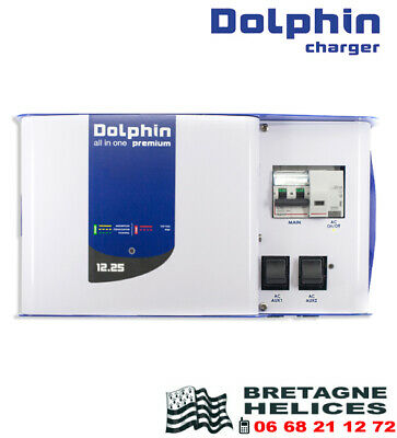 Unité d'énergie All in One Premium 12V-25A - 230V DOLPHIN 399121