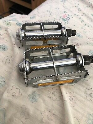 "US Seller Silver NEW Old School MKS PEDALS BM-7 BMX 9//16/"" JAPAN"