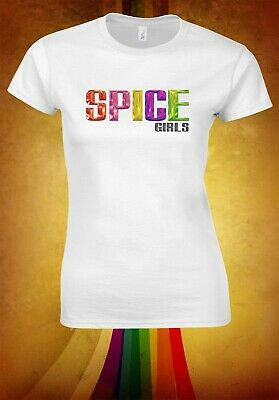 Spice Girls Posh Scary Baby Sporty Ginger World Tour Women T-shirt W2881