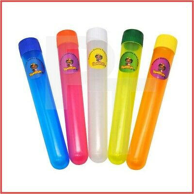 HoneyPuff Plastic Doob Tubes, 115mm [Airtight/Cone/Holder/Joint/Waterproof]