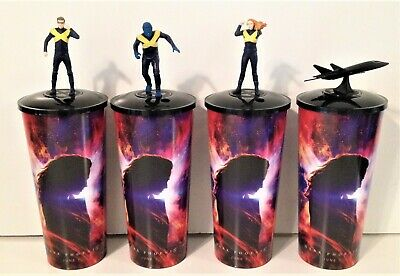 Marvel X-Men: Dark Phoenix Movie Theater Exclusive Cup Topper Set #2