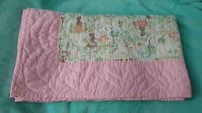 Handmade Quilt-Old Fashioned Boy & Girl Print
