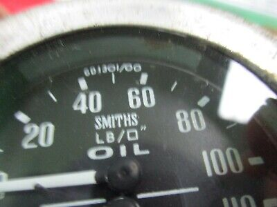 Smiths temperature & oil pressure dual gauge GD1301/00, Centigrade water temp