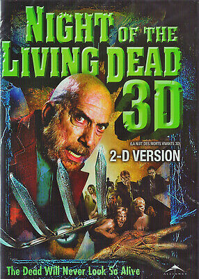 Night Of The Living Dead 3D 2009 (Sid Haig) ------2D Version ---- *New Dvd*