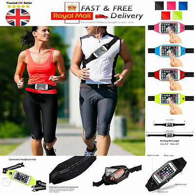 Cycling Waist Band Bum Bag Case Sports Running Jogging Gym For Mobile Phones UK