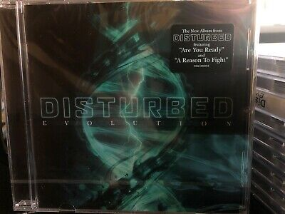 LOT OF 7 DISTURBED - EVOLUTION CD's - Brand New Sealed - Unopened FREE SHIPPING