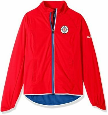 14eb5c15986 Los Angeles Clippers Womens Large Red Light Weight Full Zip Jacket Coat NBA
