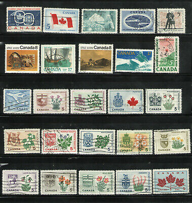 Canada  A  Collection of  150+  Different Used   Worth a Look!