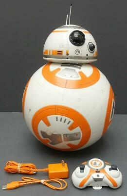 Star Wars HYPERDRIVE BB-8 Remote Control Rolling RC Toy w/ Remote Charger & USB