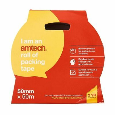 Amtech Packing Tape 50mm X 50M - Brown