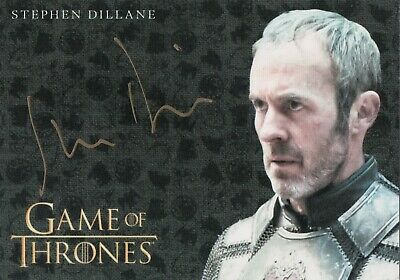 Game of Thrones Inflexions, Stephen Dillane as Stannis Baratheon Autograph Card