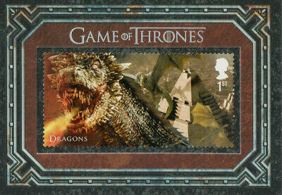 Game of Thrones Inflexions, Dragons S15 Stamp Card