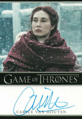 Game of Thrones Inflexions, Carice Van Houten 'Melisandre' Autograph Card