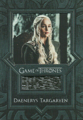 Game of Thrones Inflexions, Daenerys Targaryen Coat VR11 Costume Relic Card