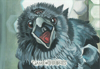Game of Thrones Inflexions, Jay Manchand Artist Sketch Card