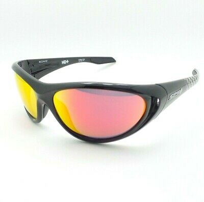 dd6a9300253a Spy Optics Scoop 2 Black Check HD+ Red Spectra Mirror New Sunglasses  Authentic