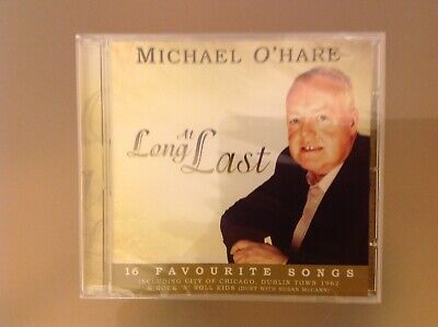 Michael O'hare Cd - At Long Last - Brand New And Sealed
