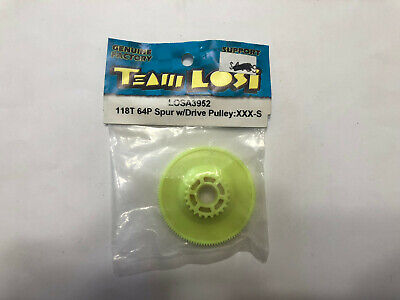 XXX-S RC Part Losi LOSA3944 Spur Gear with Drive Pulley 86T 48P