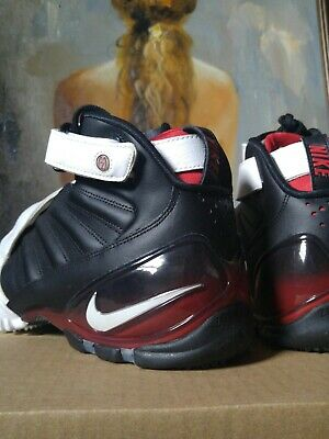 d07cbbfd3a44 Nike Flight Air Zoom Michael Vick III 3 size 9.5 832698 600 Black White Red  mike