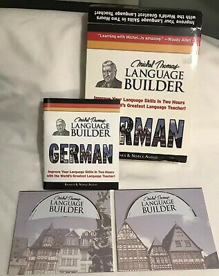 German With Michel Thomas The Language Builder 2 Compact Discs 48 Page Booklet